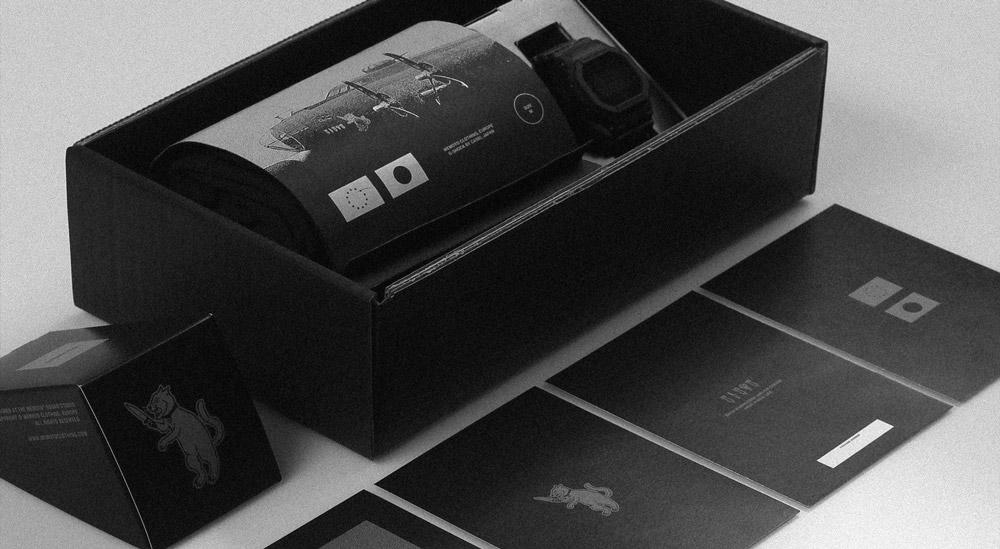 Wemoto x Casio G-shock — hodinky — tričko