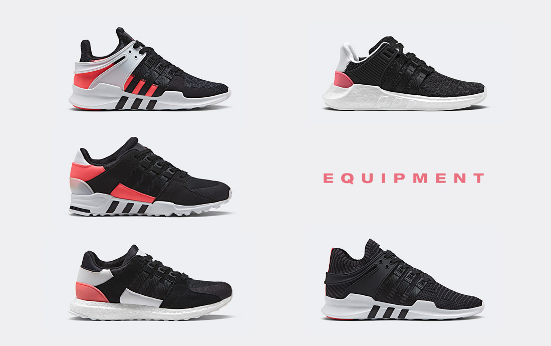 adidas Originals — EQT 2017 — Turbo Color — boty — tenisky – sneakers