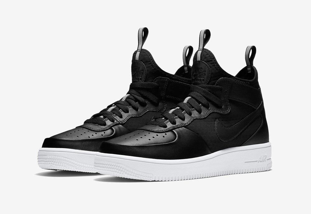 Nike Air Force 1 Ultra Force Mid — kotníkové boty — tenisky — sneakers — pánské — černé