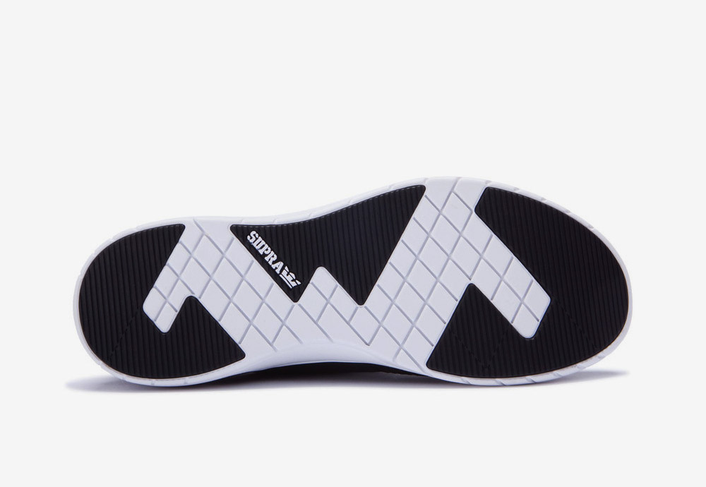 Supra Flow Run — boty — tenisky — sneakers — pánské — dámské — černé