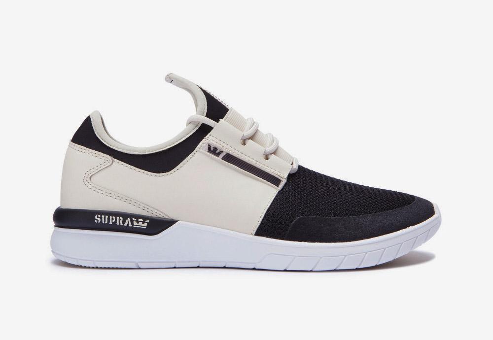 Supra Flow Run — boty — tenisky — sneakers — pánské — dámské — černo-červené