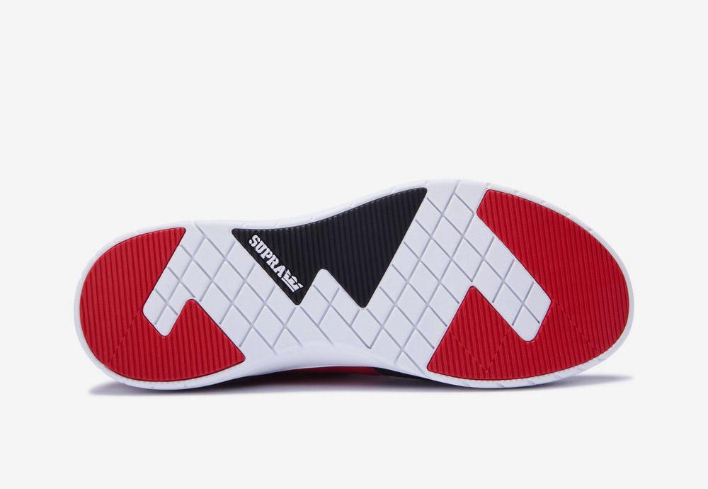 Supra Flow Run — boty — tenisky — sneakers — pánské — dámské — černo-krémové