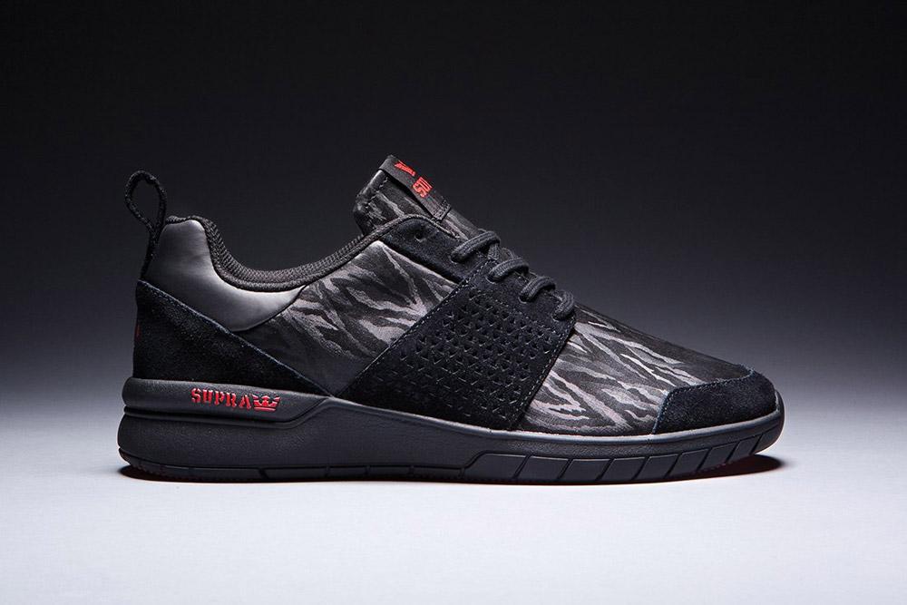 Supra — Scissor — Assassin's Creed — boty — tenisky — sneakers — černé
