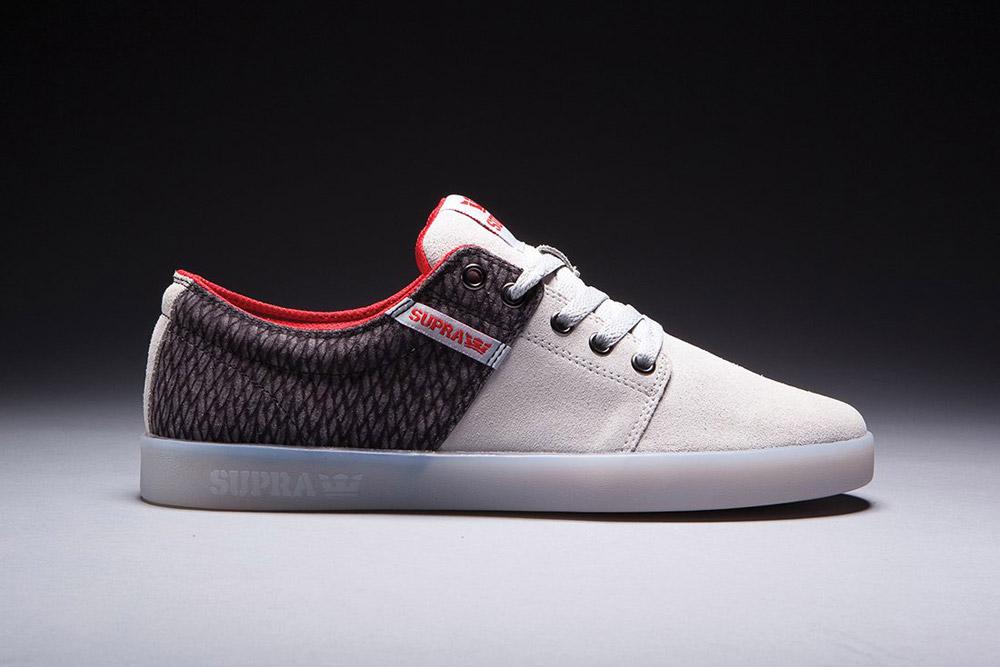Supra — Stacks II — Assassin's Creed — boty — tenisky — sneakers — krémové