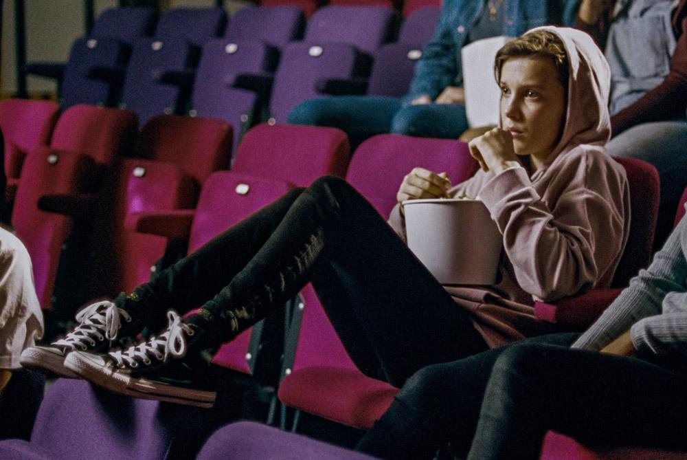Seriálová hvězda Millie Bobby Brown jako tvář značky Converse