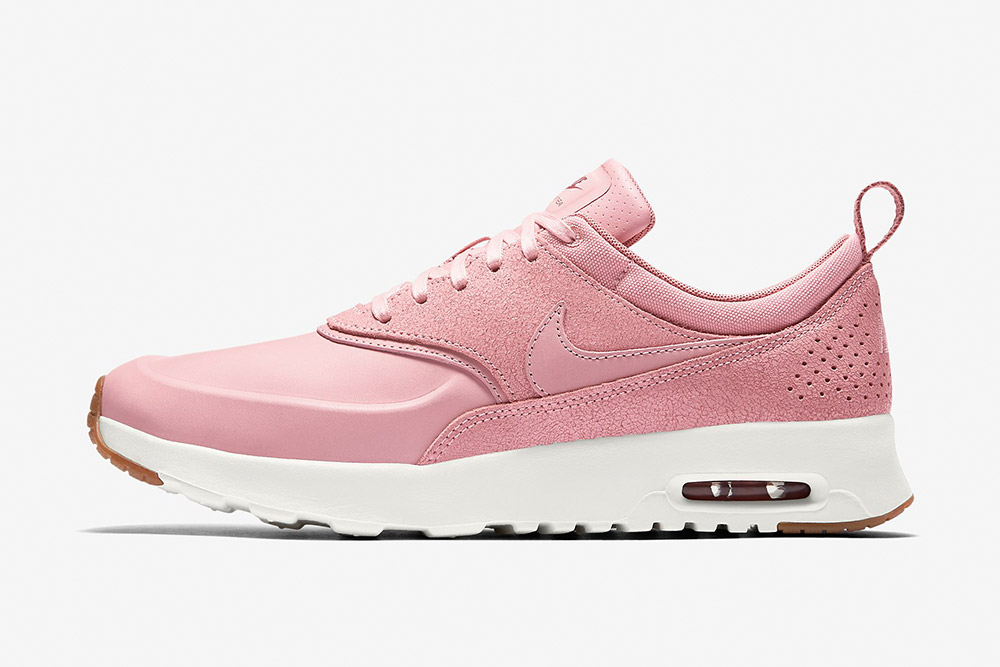 Nike Air Max Thea Premium WMNS — dámské tenisky — boty — sneakers — růžové