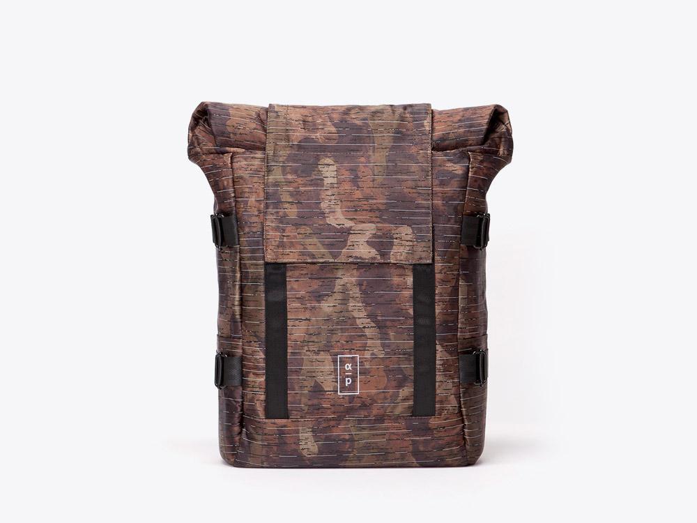 Ucon Acrobatics — batoh roll top — maskáčový — hnědý — Bradford Backpack — Alpha Project
