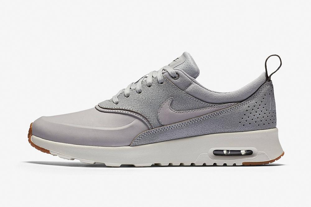 Nike Air Max Thea Premium WMNS — dámské tenisky — boty — sneakers — šedé