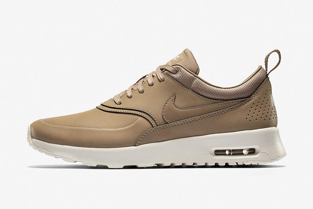 Nike Air Max Thea Premium WMNS — dámské tenisky — boty — sneakers — béžové, hnědé