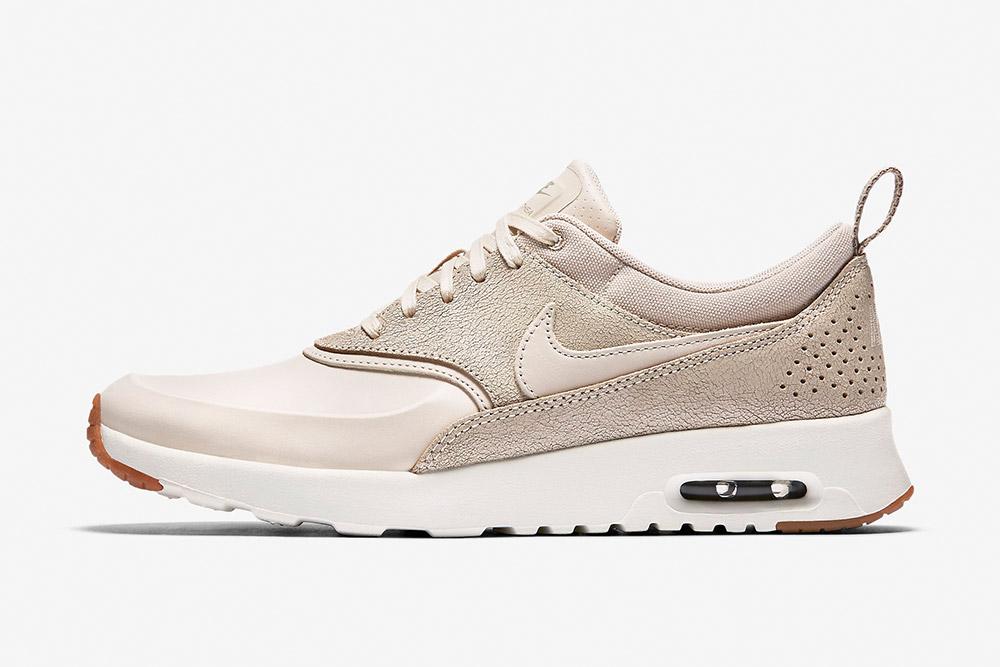 Nike Air Max Thea Premium WMNS — dámské tenisky — boty — sneakers — světle hnědé, krémové