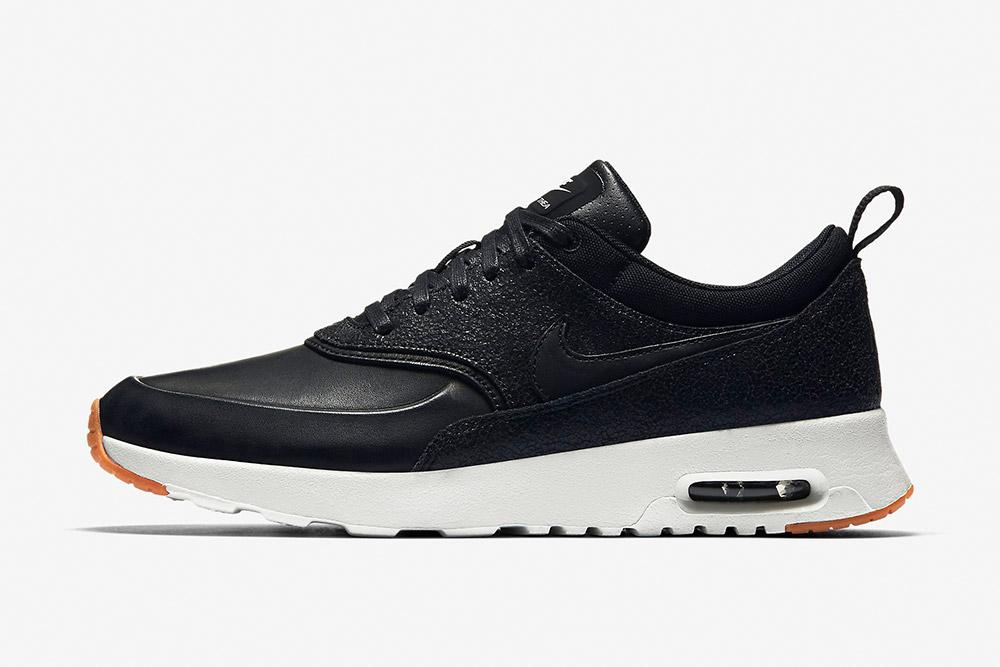 Nike Air Max Thea Premium WMNS — dámské tenisky — boty — sneakers — černé