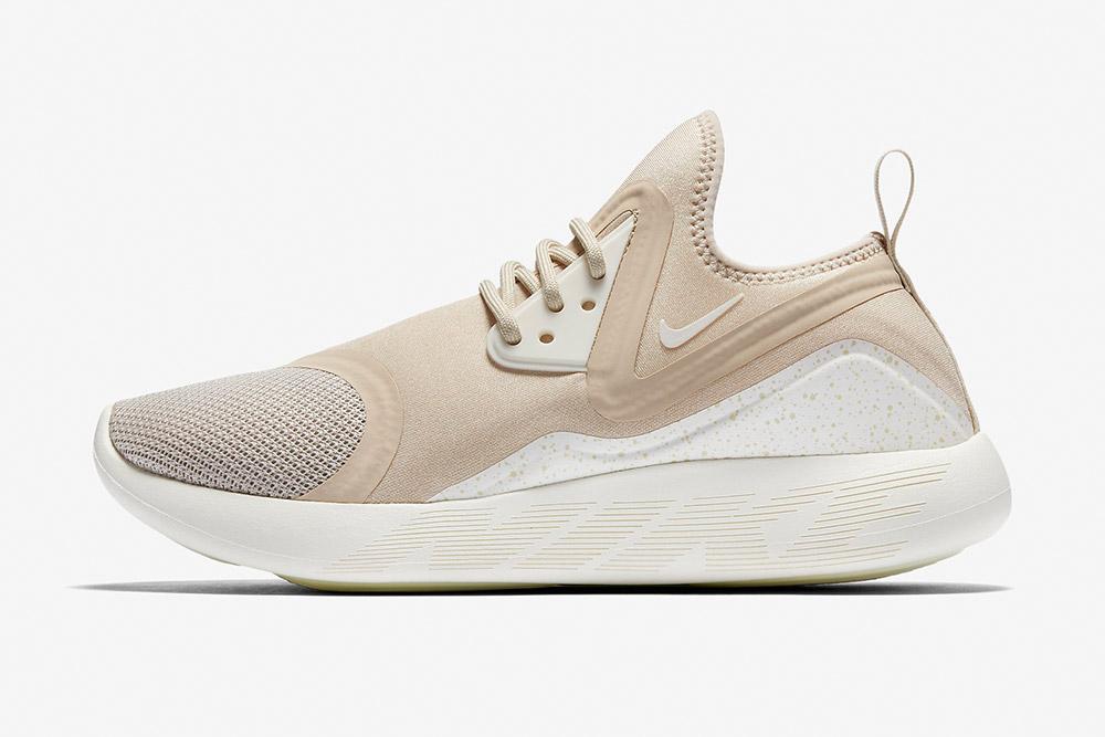 Nike LunarCharge Essential — boty — tenisky — sneakers — dámské — světle béžové, pískové