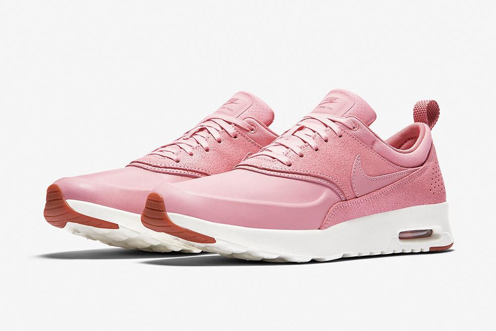 Nike Air Max Thea Premium WMNS — dámské boty — tenisky — sneakers — růžové
