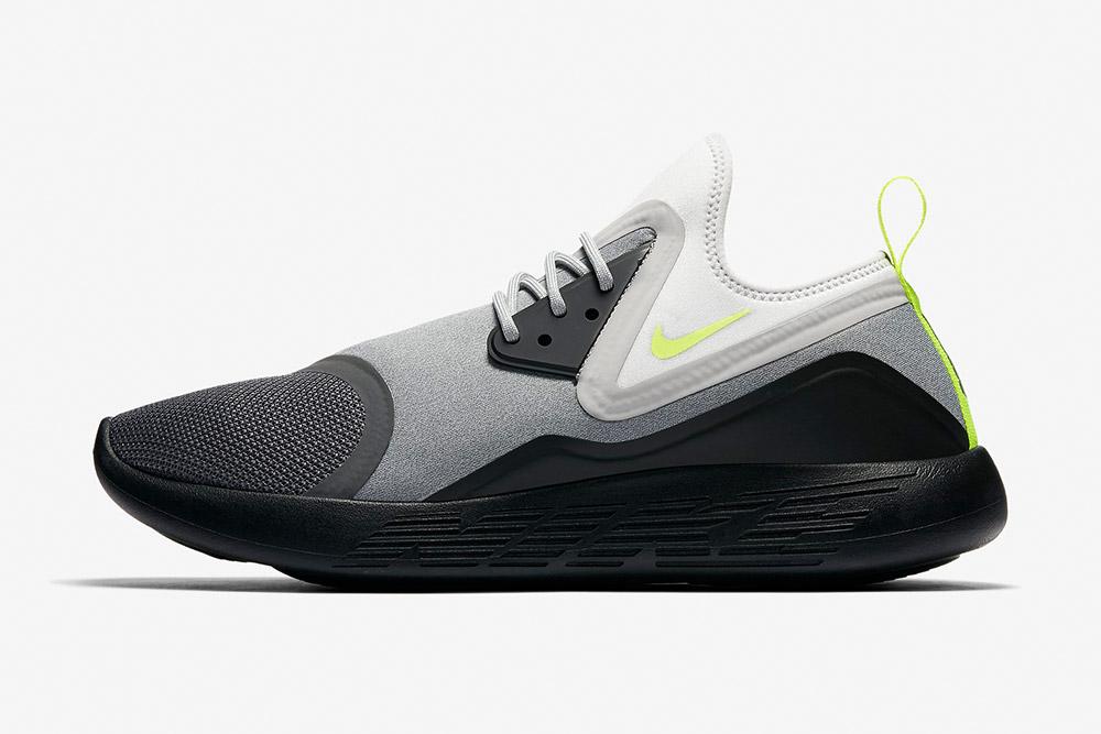Nike LunarCharge Essential BN — boty — tenisky — sneakers — pánské, dámské — šedo-černé
