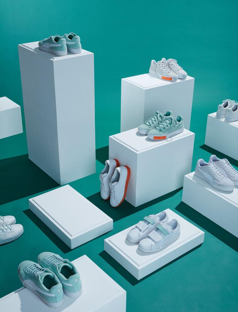 PUMA x Daily Paper — sportovní boty — oblečení — jaro 2017
