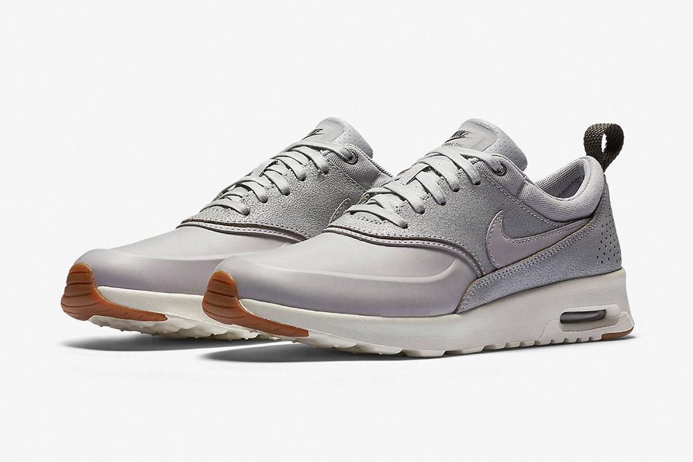 Nike Air Max Thea Premium WMNS — dámské boty — tenisky — sneakers — šedé 98685a99c2c