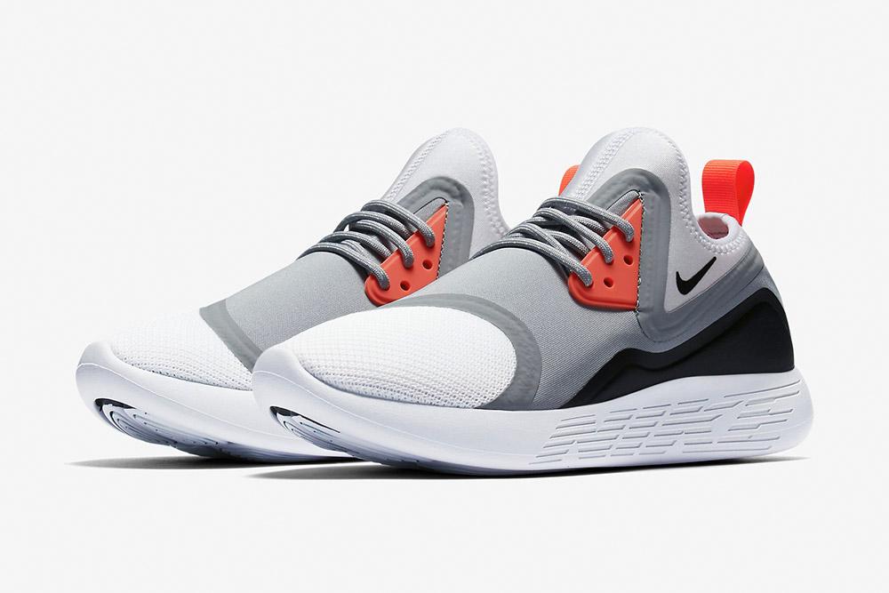 Nike LunarCharge Essential — tenisky — boty — sneakers — dámské, pánské — černo-šedé