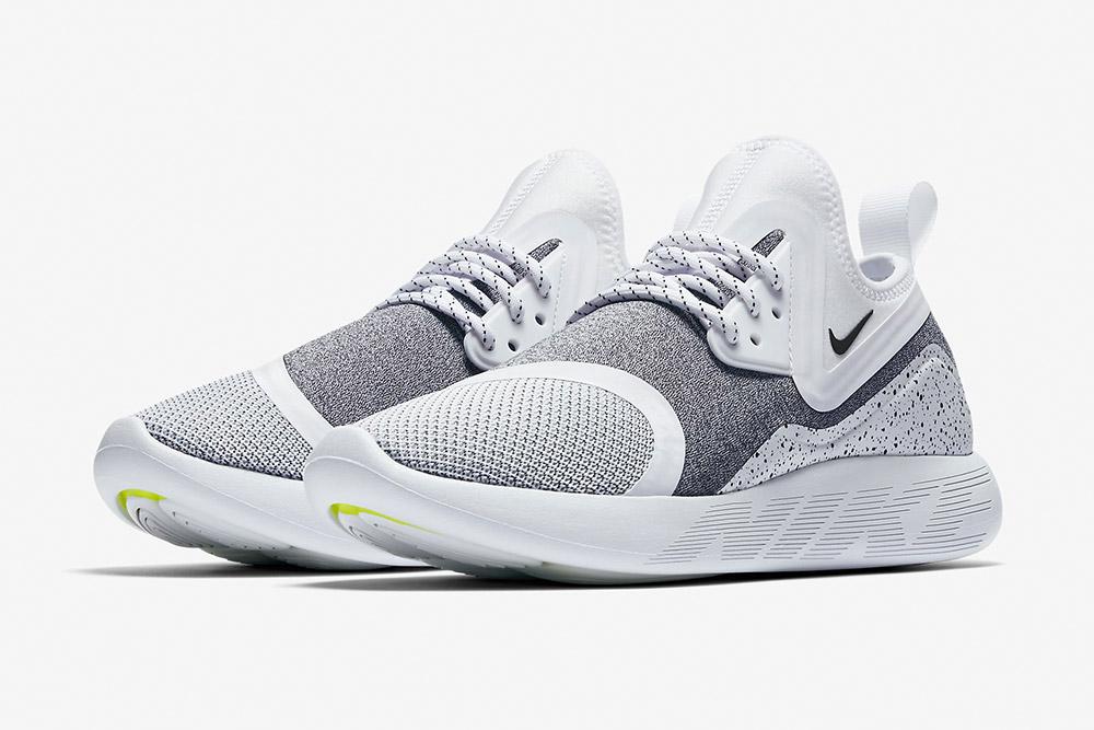 Nike LunarCharge Essential — tenisky — boty — sneakers — dámské, pánské — šedé