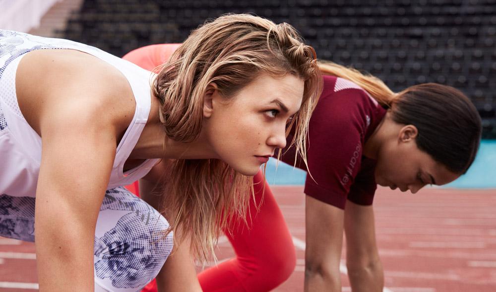 adidas x Stella McCartney — jaro/léto 2017 — dámské sportovní oblečení — běžecké — — ledvinka