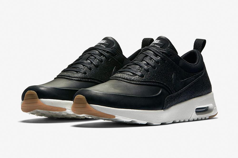 Nike Air Max Thea Premium WMNS — dámské boty — tenisky — sneakers — černé