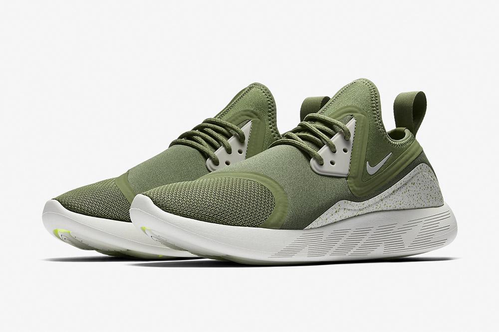 Nike LunarCharge Essential — tenisky — boty — sneakers — pánské — zelené, olivové