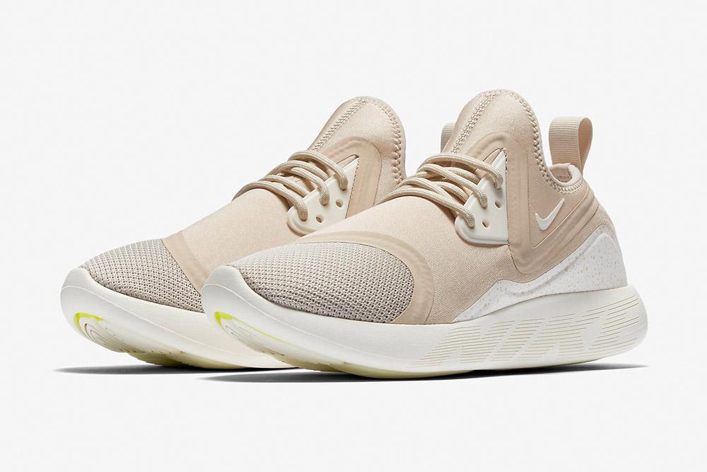 Nike LunarCharge Essential — tenisky — boty — sneakers — dámské — světle béžové, pískové