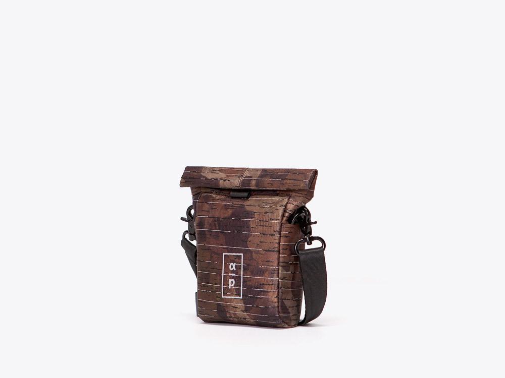 Ucon Acrobatics — taštička — maskáčová — hnědá — Nivas Backpack — Alpha Project