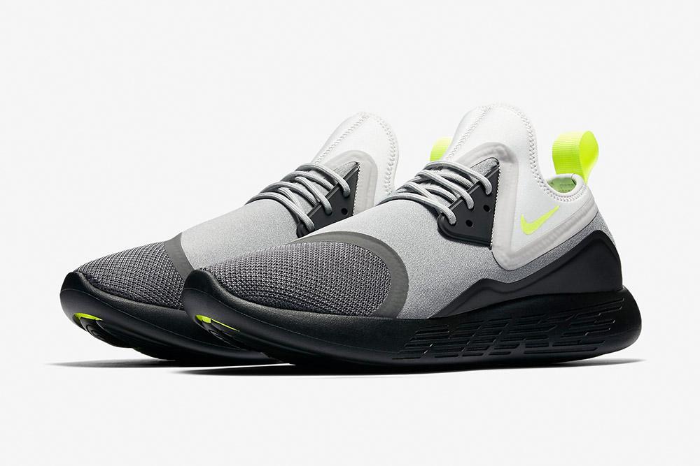 Nike LunarCharge Essential BN — tenisky — boty — sneakers — dámské, pánské — šedo-černé
