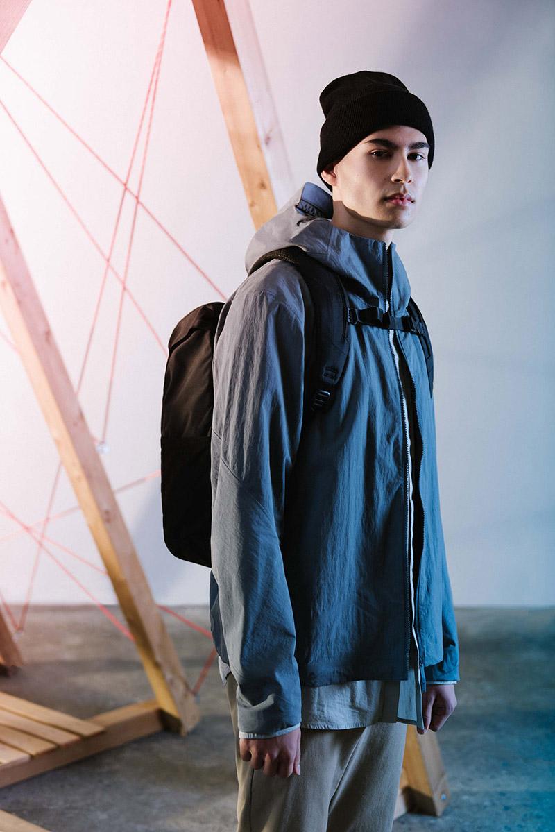 Herschel Supply — batoh — černý — Barlow Backpack — kolekce Trail