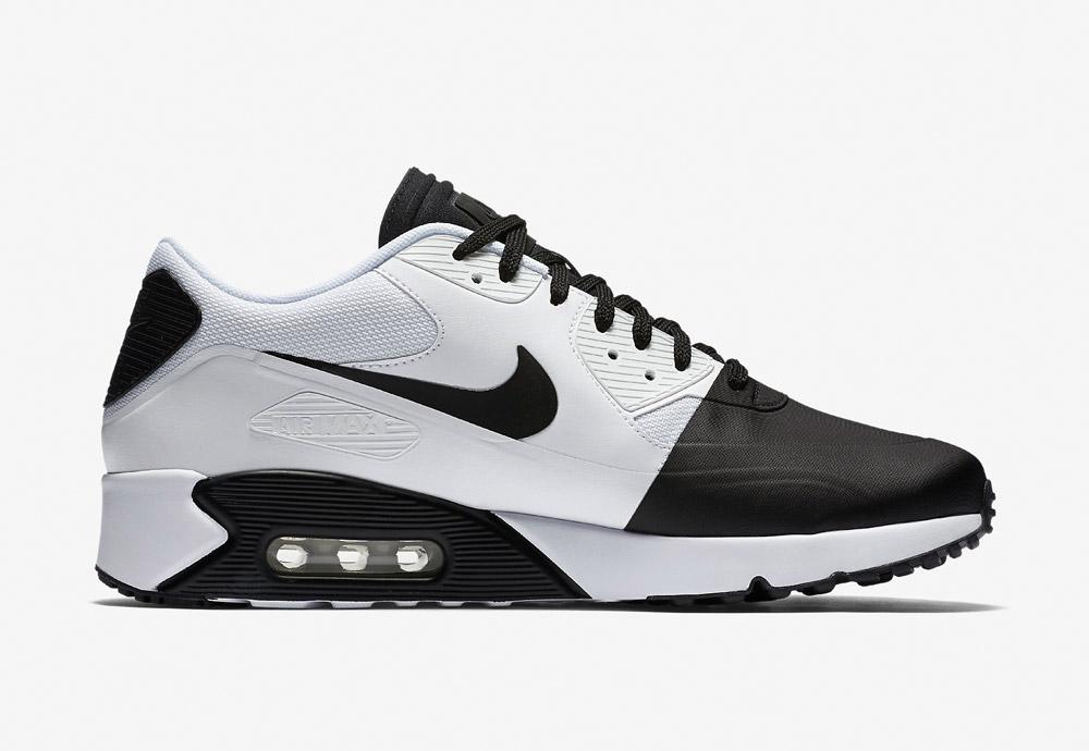 Nike Air Max 90 Ultra 2.0 SE — pánské boty — tenisky — sneakers — Airmaxy — černo-bílé — bílo-černé