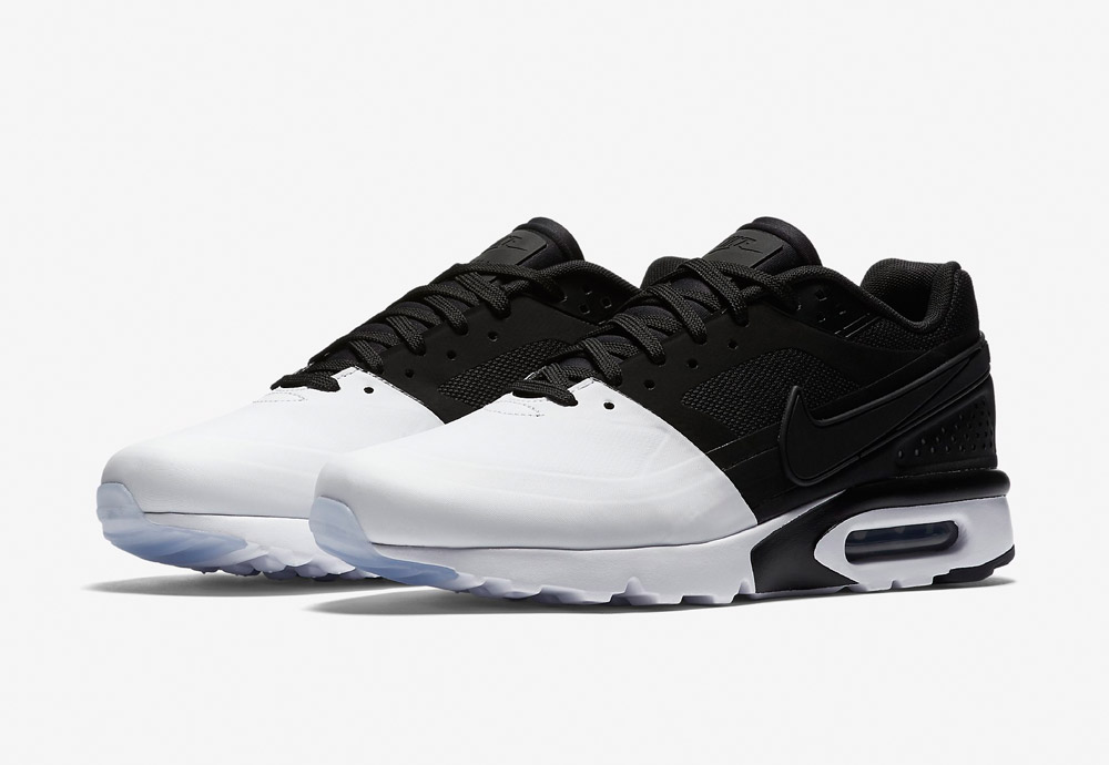 Nike Air Max BW Ultra SE — pánské boty — tenisky — sneakers — Airmaxy — černo-bílé — bílo-černé