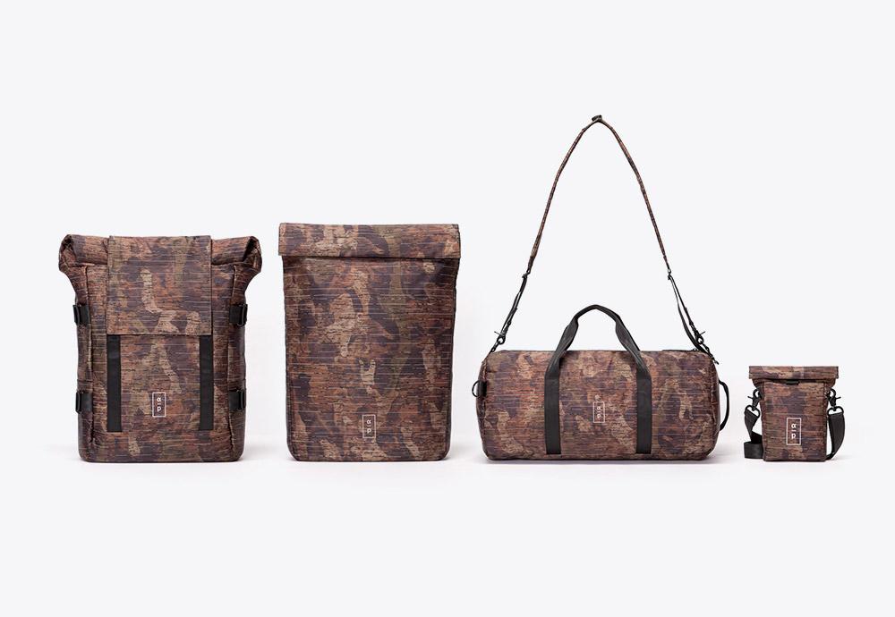 Ucon — hnědé maskáčové batohy a tašky — řada Alpha Project