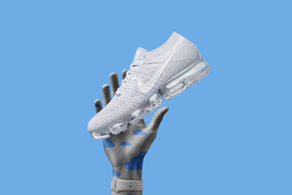 Nike Air VaporMax — boty — tenisky — bílé — pánské, dámské — novinka 2017