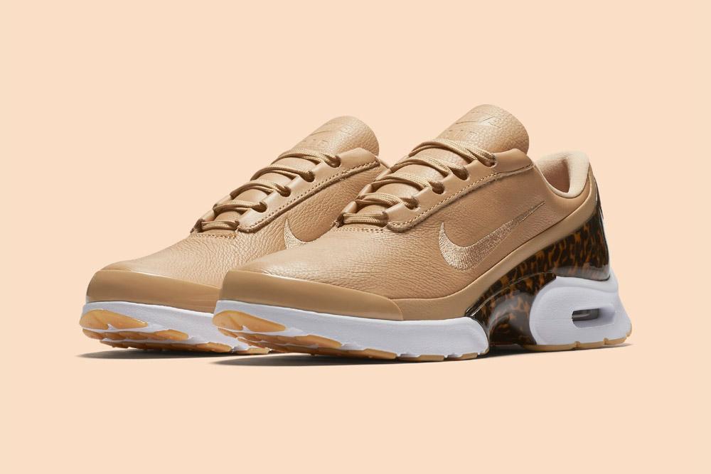 Nike Air Max Jewell LX — dámské boty — tenisky — sneakers — béžové, pískové — vachetta tan