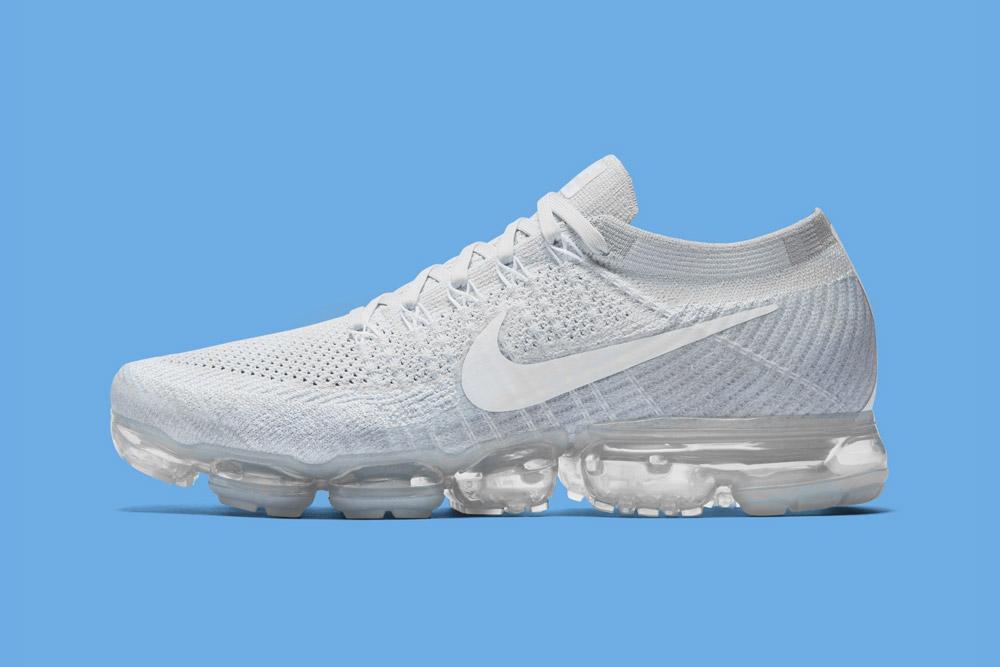 Nike Air VaporMax — boty — tenisky — bílé — dámské, pánské — novinka 2017