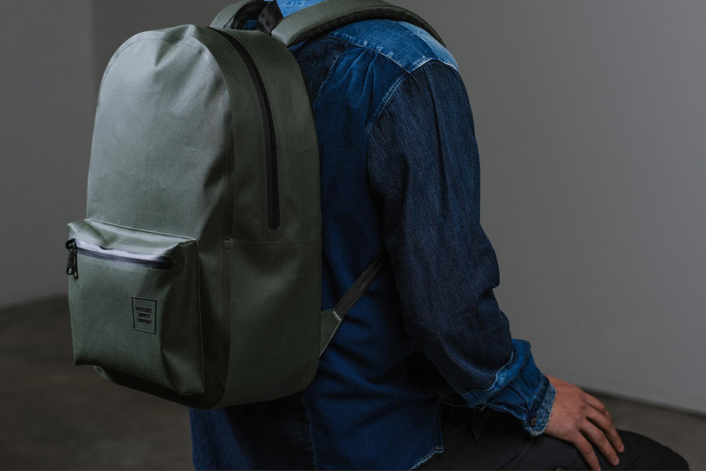 Herschel Supply — Studio — batoh — Settlement Backpack Tarpaulin — zelený, olivový