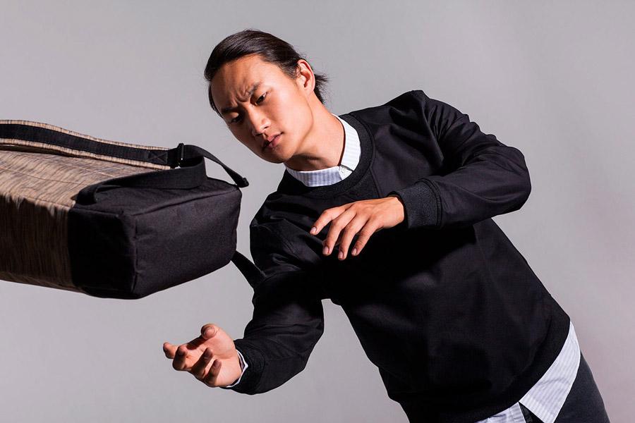 Ucon Acrobatics — batoh — béžový, hnědý, vzorovaný — sustainable, vegan — Garrett Backpack