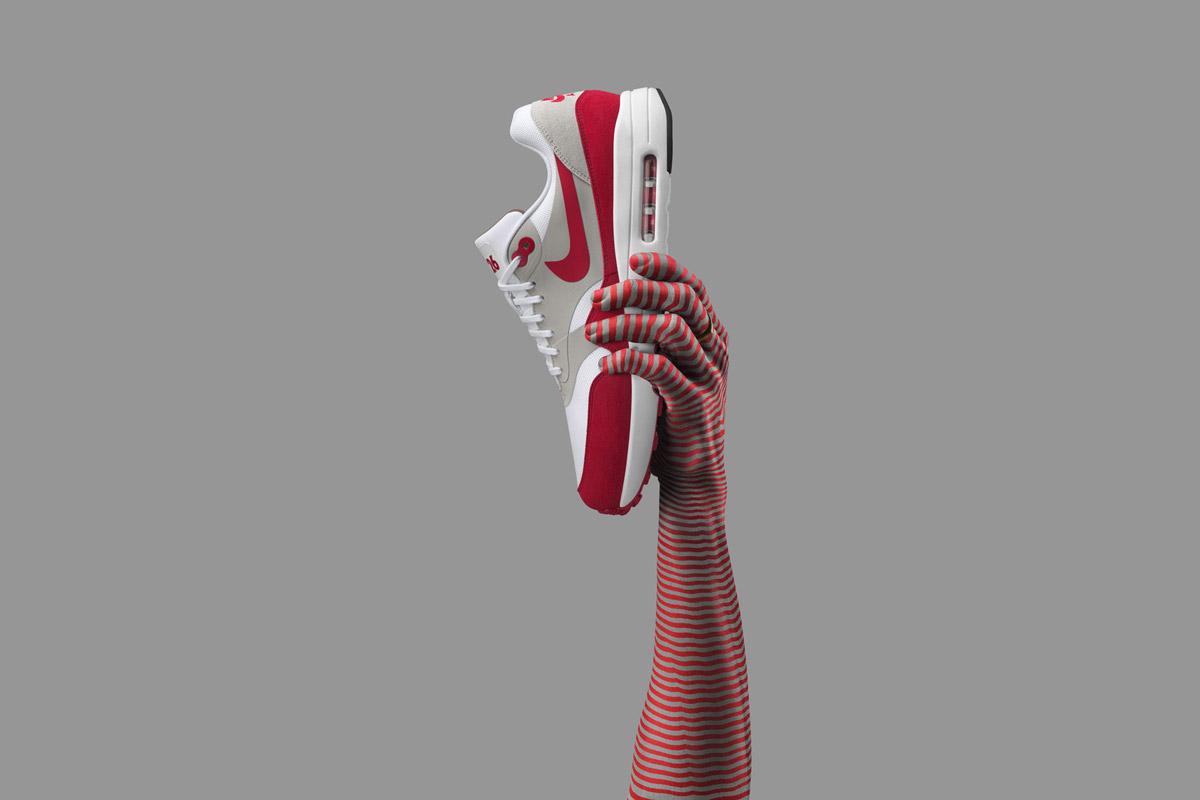 Nike Air Max 1 Ultra 2.0 LE — boty — tenisky — sneakers — červeno-šedé — Nike Air Max Day 2017