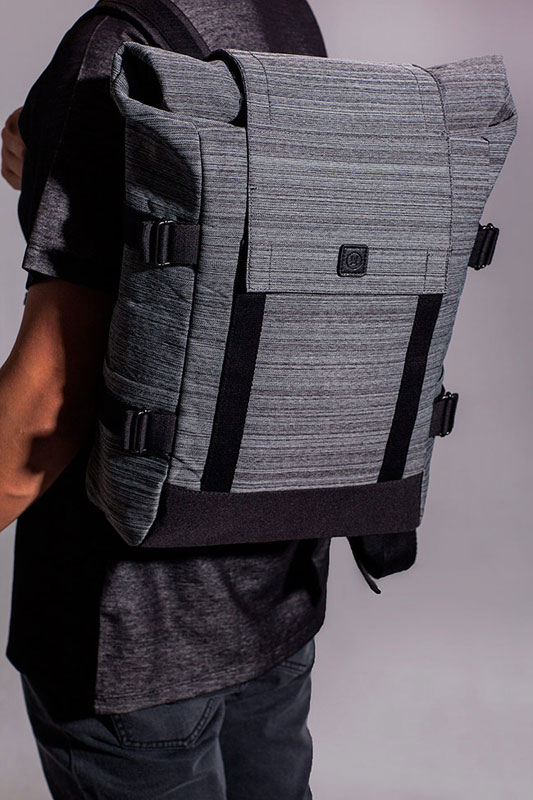 Ucon Acrobatics — batoh — šedý — sustainable, vegan — Braxton Backpack