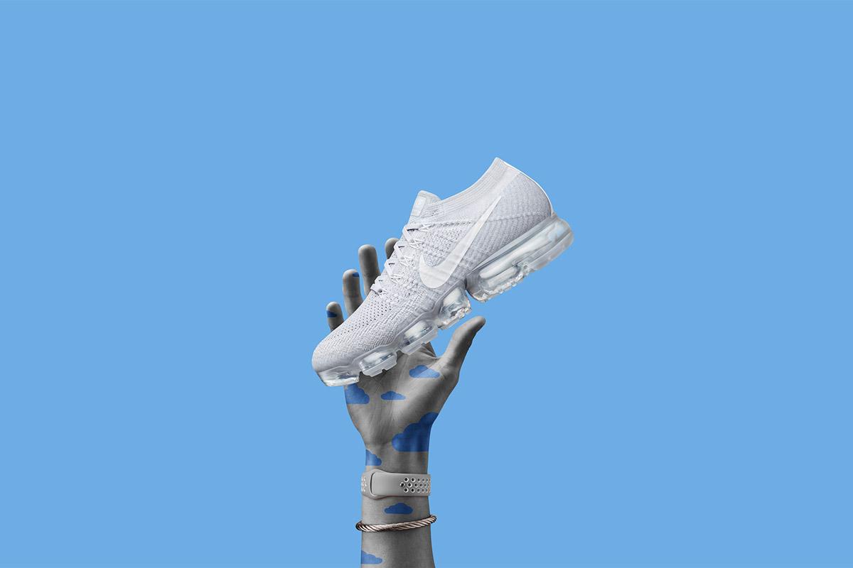 Nike Air VaporMax — boty — tenisky — sneakers — bílé — Nike Air Max Day 2017