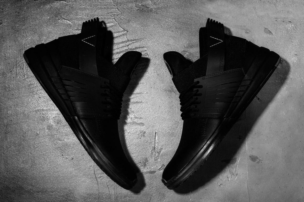 Supra Skytop V — kotníkové boty — tenisky — sneakers — černé
