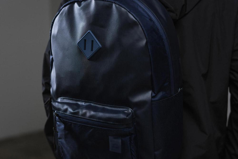 Herschel Supply — Studio — batoh — Ruskin Backpack — tmavě modrý