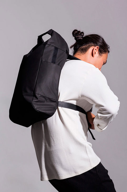Ucon Acrobatics — batoh — černý — sustainable, vegan — Garcia Backpack