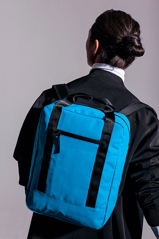 Ucon Acrobatics — batoh — modrý — sustainable, vegan — Isak Backpack