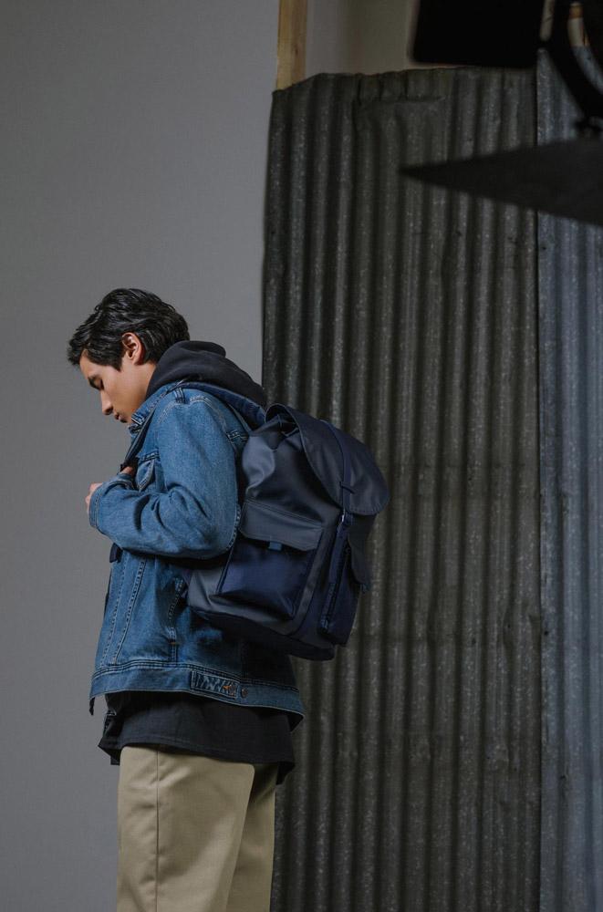 Herschel Supply — Studio — batoh — Dawson Backpack — tmavě modrý
