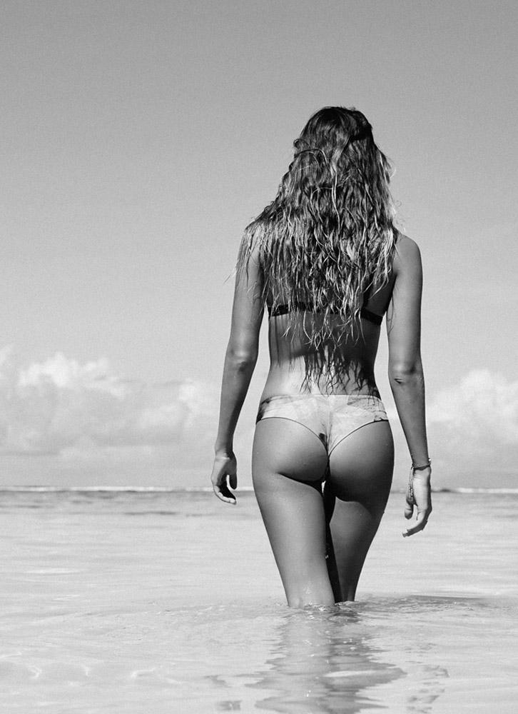 Roxy — dvoudílné plavky, dámské — bikiny — surfařské — Pop Surf 2017 — swimwear