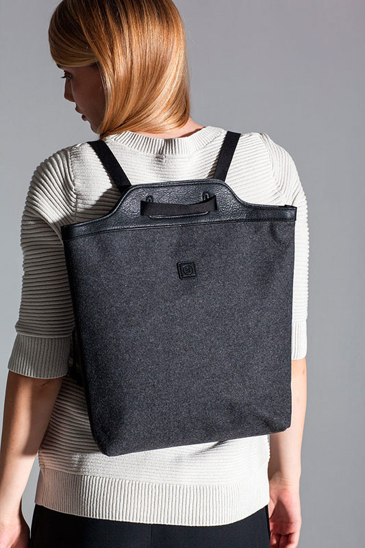 Ucon Acrobatics — batoh — tmavě šedý — sustainable, vegan — Calina Backpack