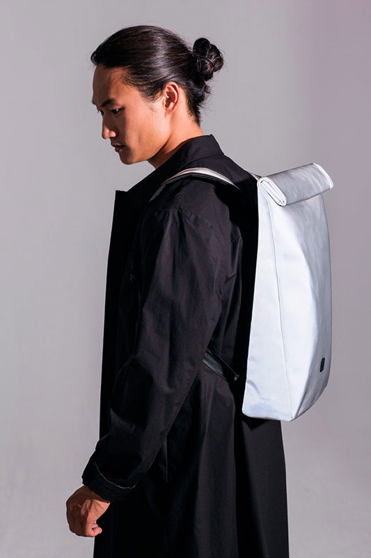 Ucon Acrobatics — batoh — stříbrný — sustainable, vegan — Alvar Backpack