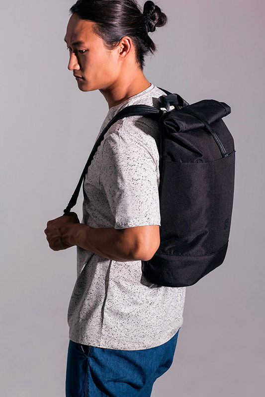 Ucon Acrobatics — batoh — černý — sustainable, vegan — Ringo Backpack