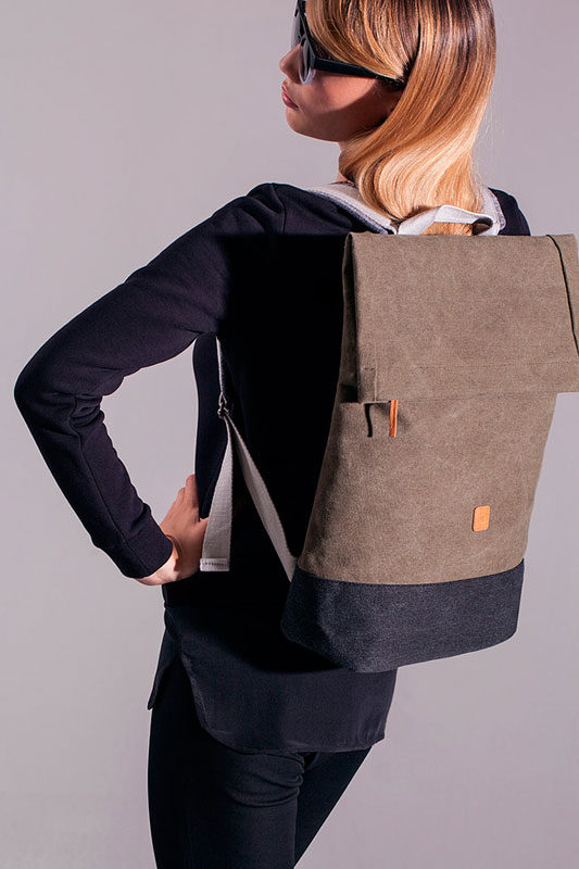 Ucon Acrobatics — batoh — hnědý — sustainable, vegan — Karlo Backpack